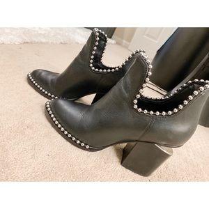 Alexander Wang Shoes - Alexander Wang Gabi Studded Booties